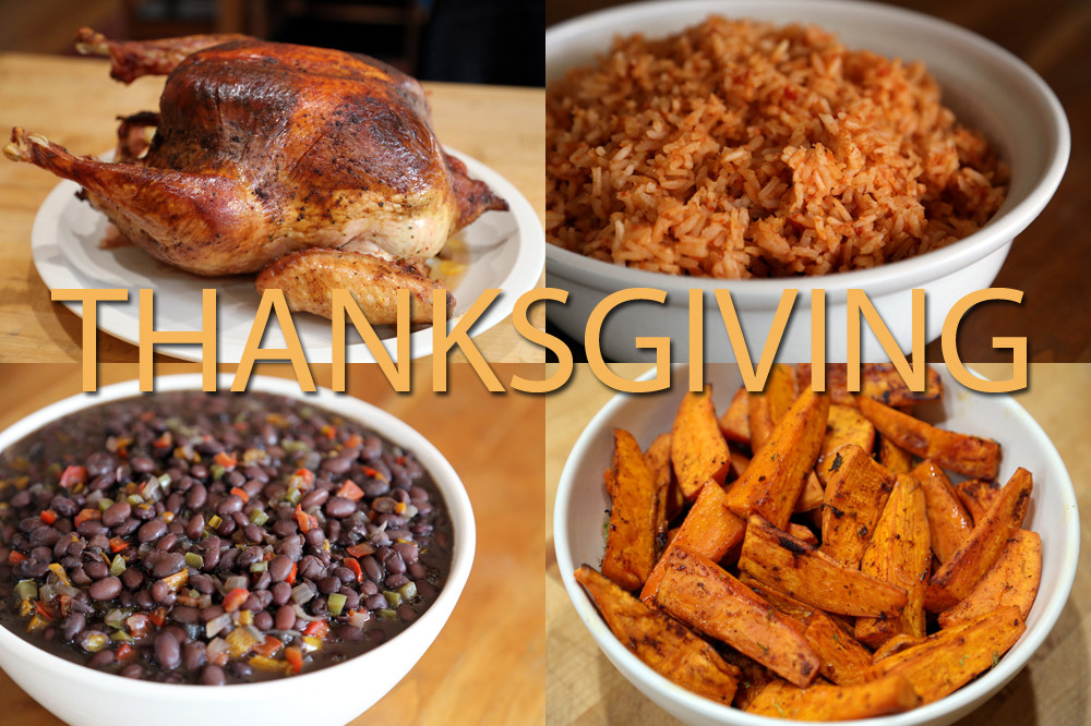 Mexican Thanksgiving Dinners  Want Something Different Serves Up a Mexican Style