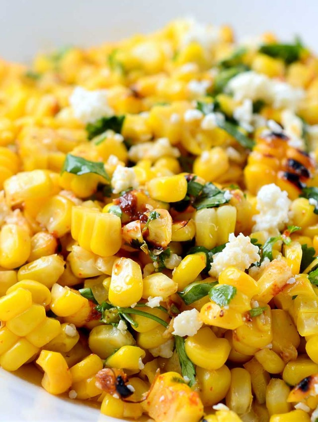 Mexican Thanksgiving Side Dishes  Recipe for Chipotle Lime Grilled Corn Life s Ambrosia