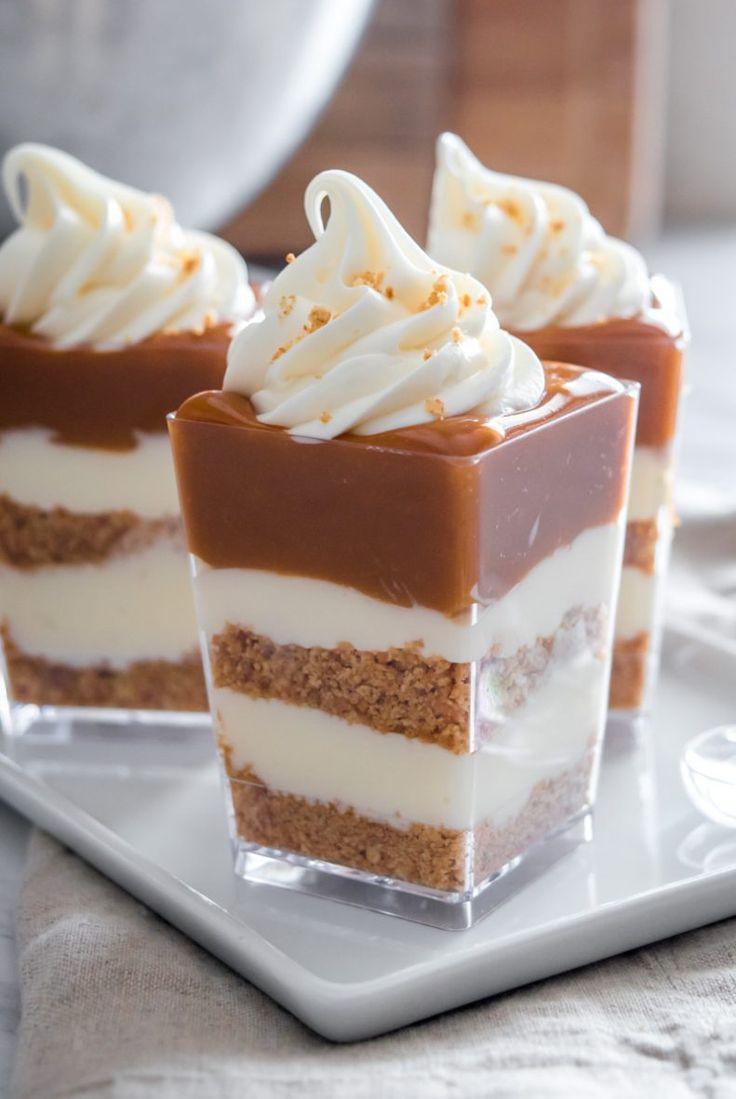 Mini Fall Desserts  25 best ideas about Mini Desserts on Pinterest