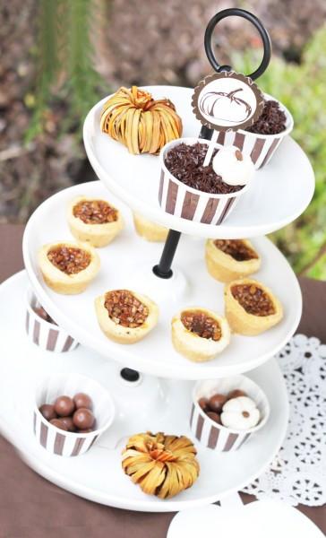Mini Fall Desserts  TRENDS Mini Desserts for Thanksgiving