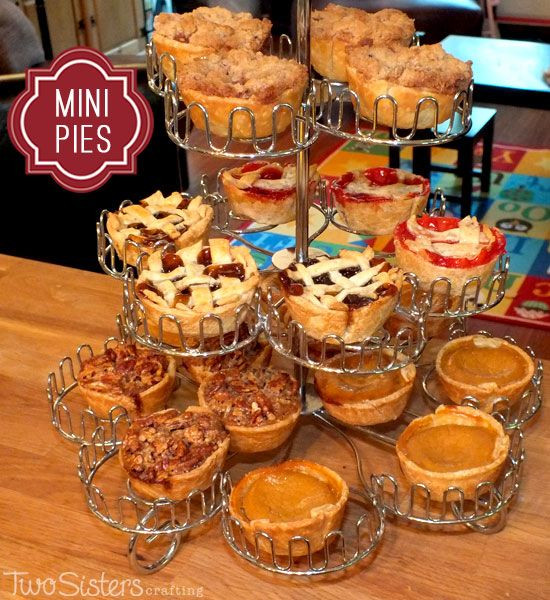 Mini Fall Desserts  Mini Pies