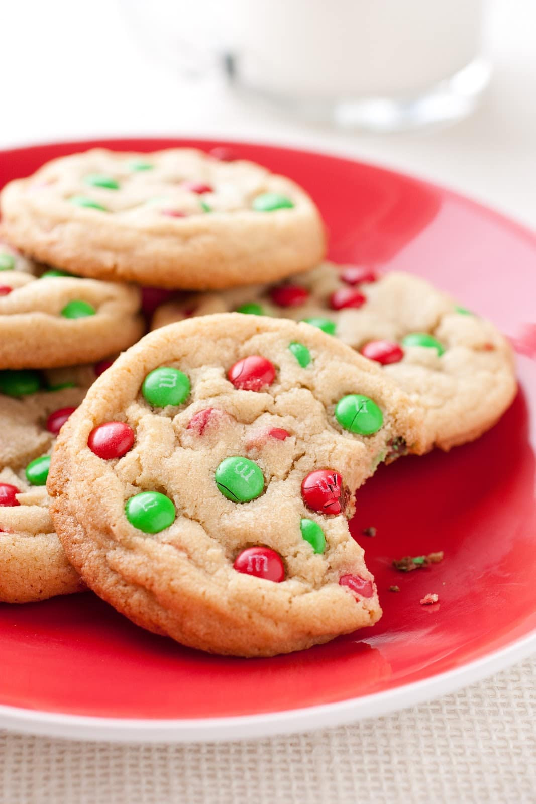 Mm Christmas Cookies  M&M Cookies Christmas Style Cooking Classy