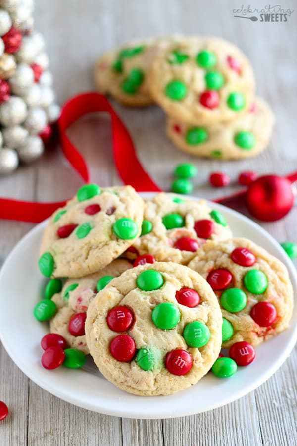 Mm Christmas Cookies  Cookie Mix in a Jar Mason jar t filled with