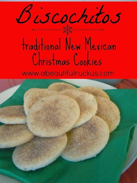 New Christmas Cookies Recipes  Biscochitos Traditional New Mexican Christmas Cookies