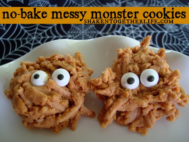 No Bake Halloween Cookies  25 Bake Sale Treats that will Sell Out