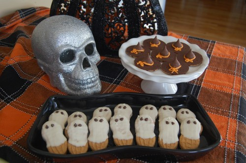 No Bake Halloween Cookies  No bake Halloween Cookies Nutter Butter Ghosts Fudge
