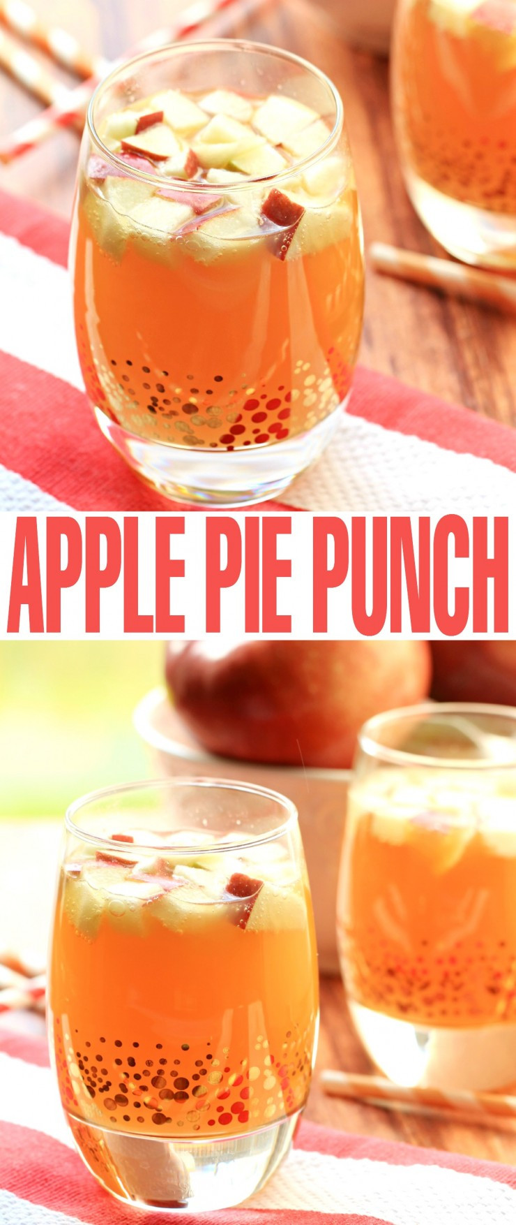 Non Alcoholic Thanksgiving Drinks  Non Alcoholic Apple Pie Punch Frugal Mom Eh