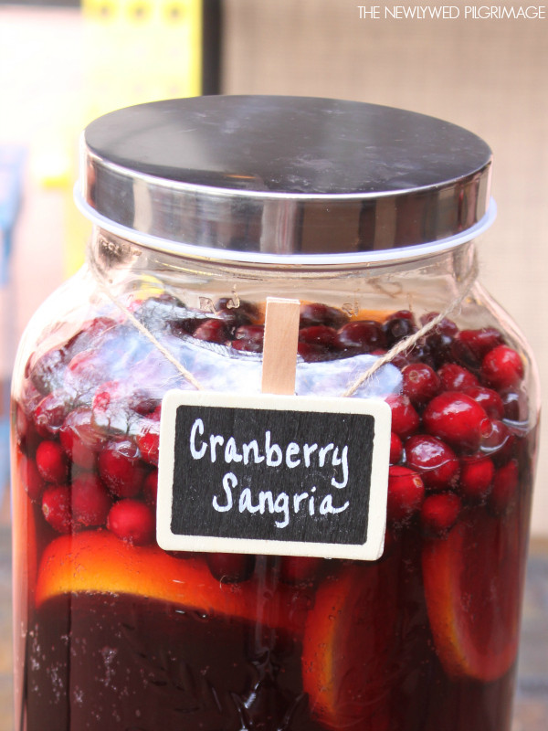 Non Alcoholic Thanksgiving Drinks  Mock Sangria Punch