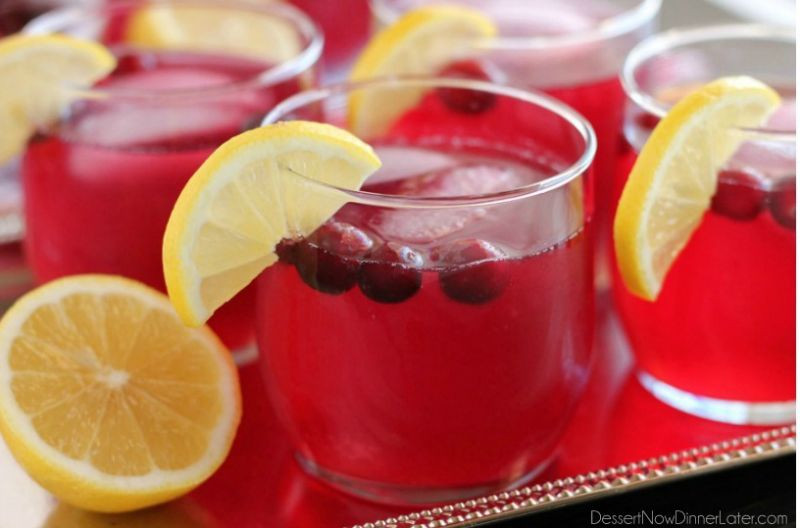 Non Alcoholic Thanksgiving Drinks  6 non alcoholic Thanksgiving cocktails that are full of