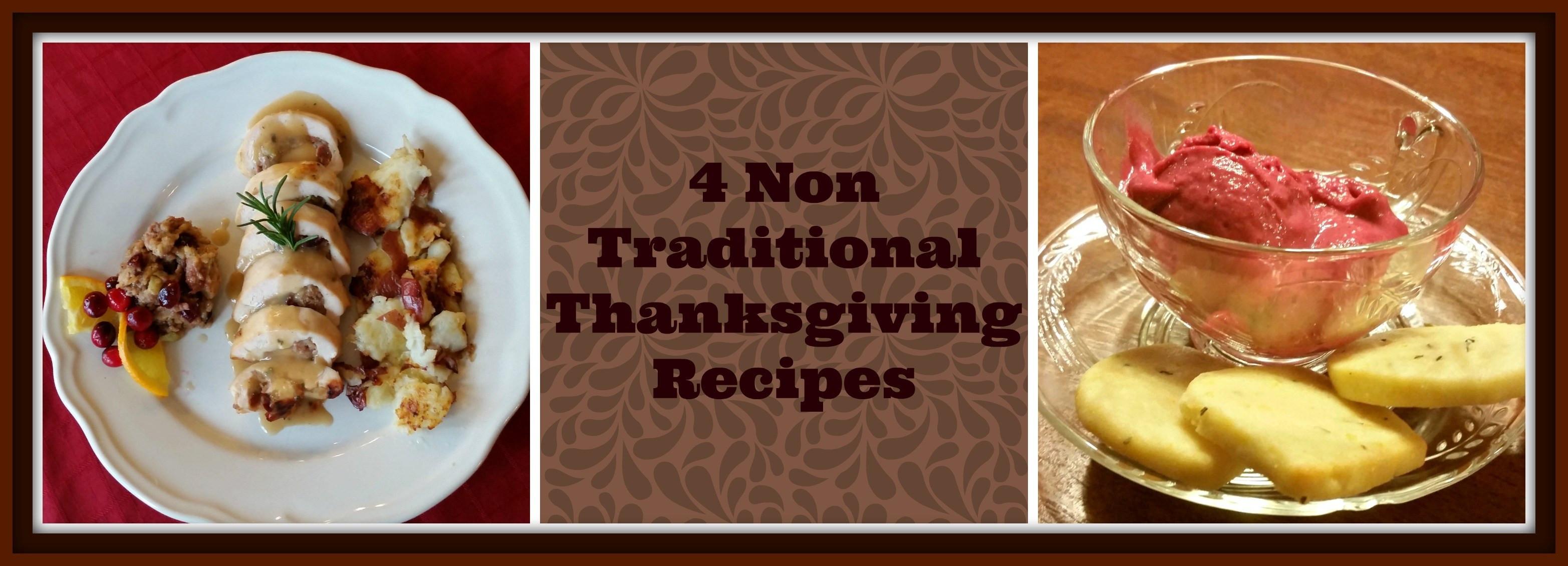 Non Traditional Thanksgiving Desserts  4 Non Traditional Thanksgiving Dinner Recipes Bubble
