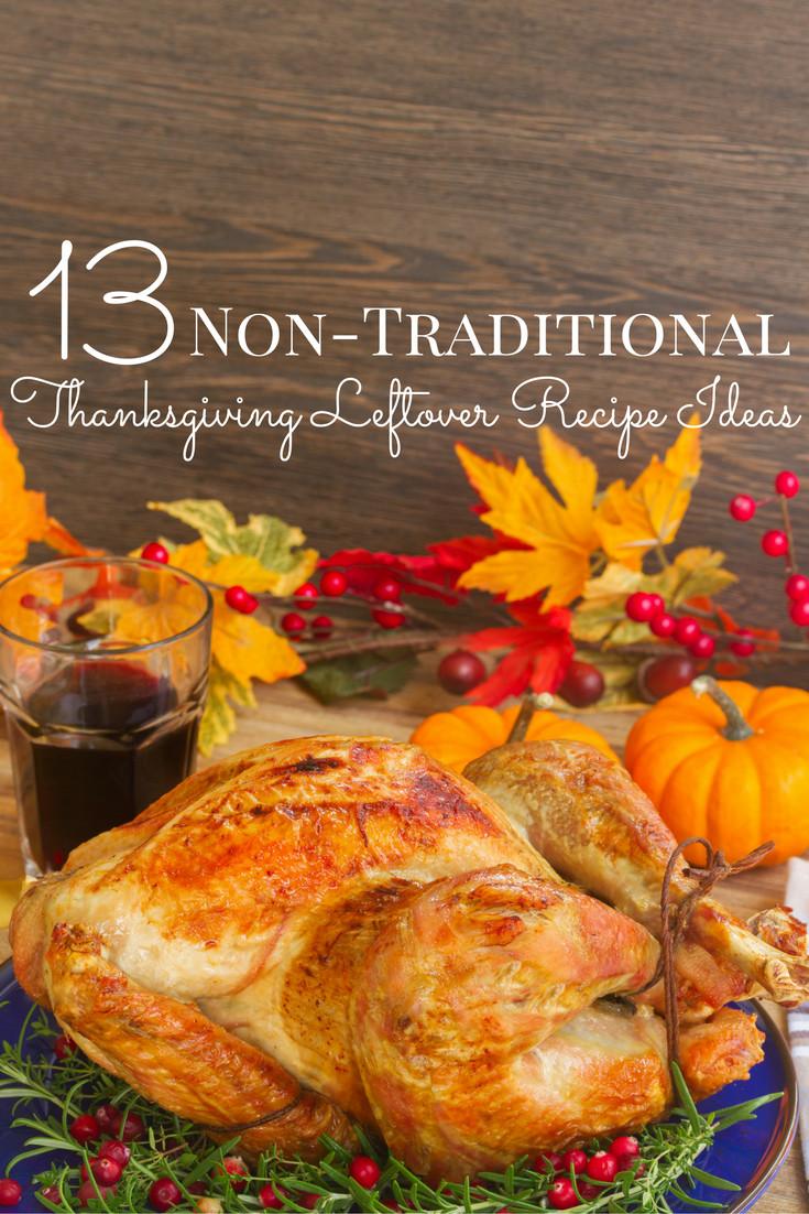 Non Traditional Thanksgiving Desserts  Non Traditional Thanksgiving Leftovers Recipe Ideas