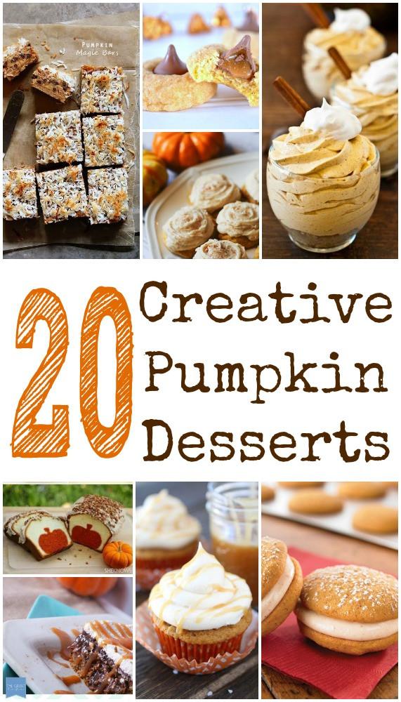 Non Traditional Thanksgiving Desserts  20 Non Traditional Pumpkin Dessert Recipes Child at