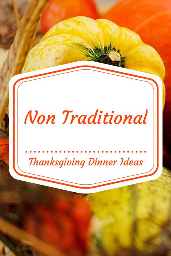 Non Traditional Thanksgiving Desserts  Traditional We and Thoughts on Pinterest