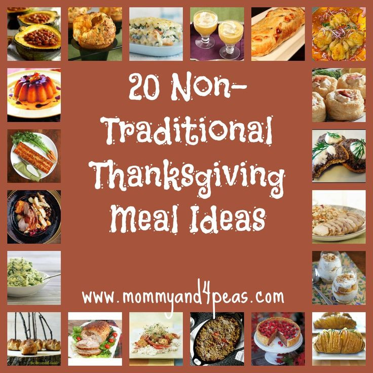 Non Traditional Thanksgiving Desserts  Host a Non Traditional Thanksgiving 20 Great Meal Ideas