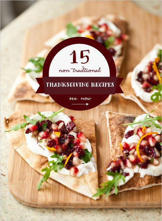 Non Traditional Thanksgiving Desserts  15 Non Traditional Thanksgiving Dinner Ideas