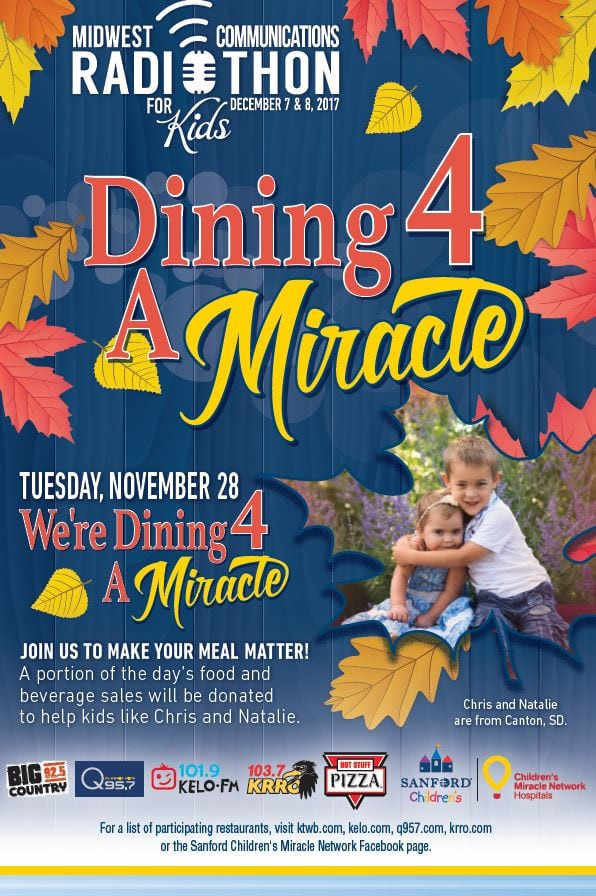 Noodles And Company Sioux Falls Sd  Dine with us tomorrow Tuesday November 28 – Sanford