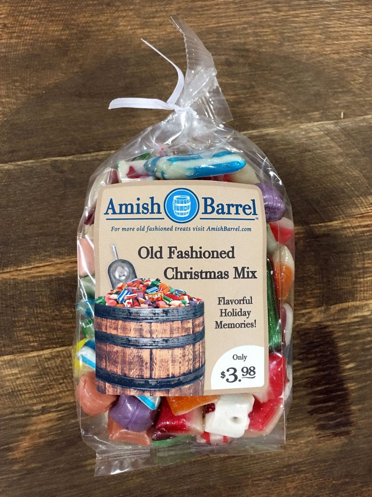 Old Fashioned Christmas Candy Mix  Amish Barrel Old Fashioned Bulk Candy and Food Store