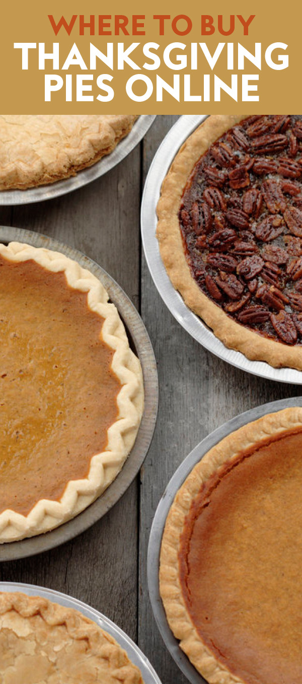 Order Pies For Thanksgiving  Where to Order Thanksgiving Pies line