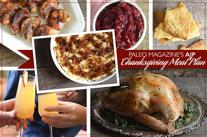 Paleo Thanksgiving Dinner  Paleo Magazine s 2014 AIP Thanksgiving Meal Plan