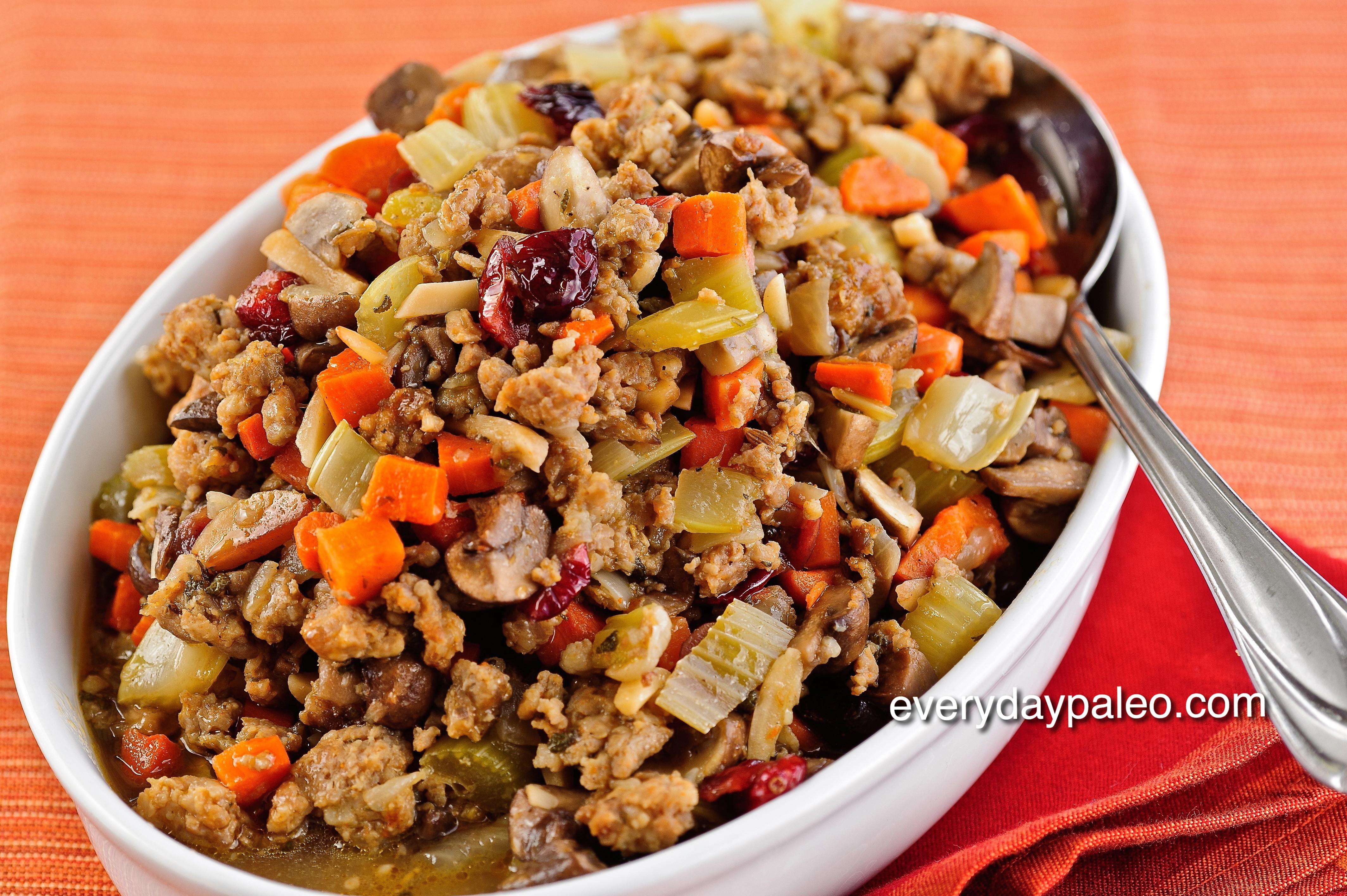 Paleo Thanksgiving Dinner  Dinner