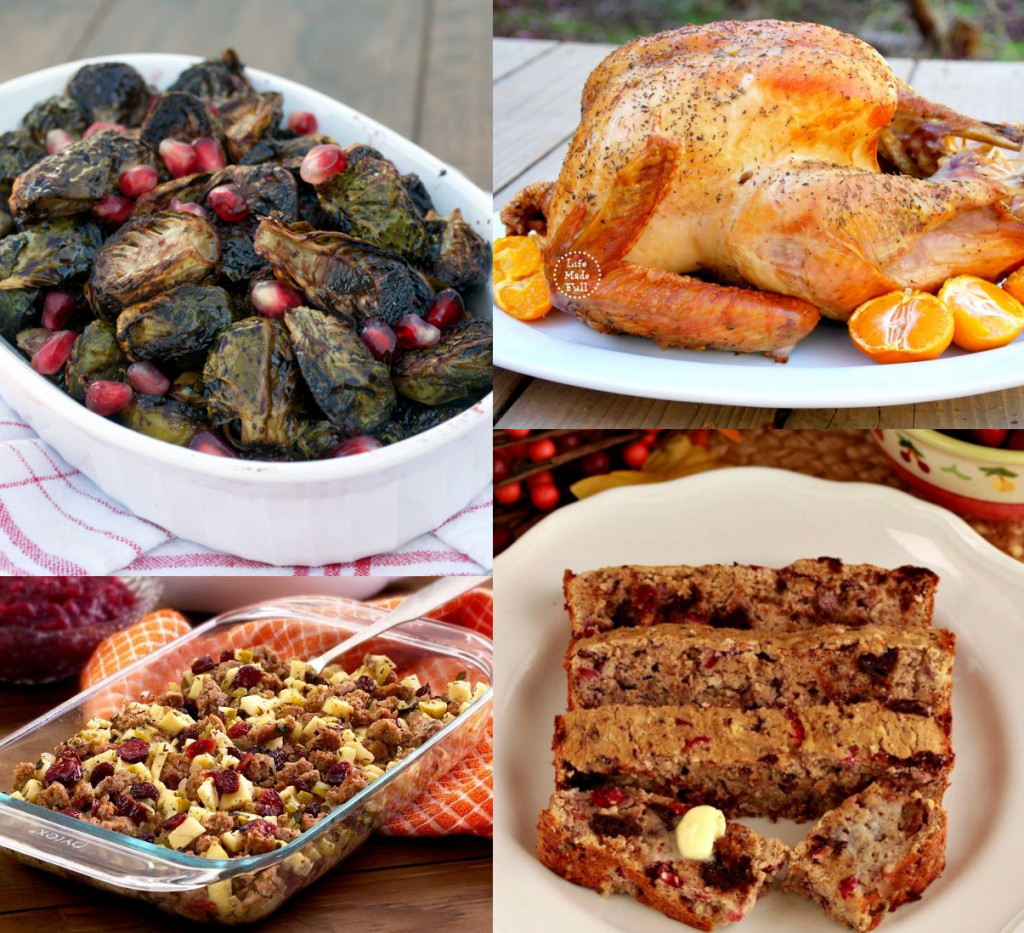 Paleo Thanksgiving Dinner  50 Paleo Thanksgiving Recipes • Oh Snap Let s Eat