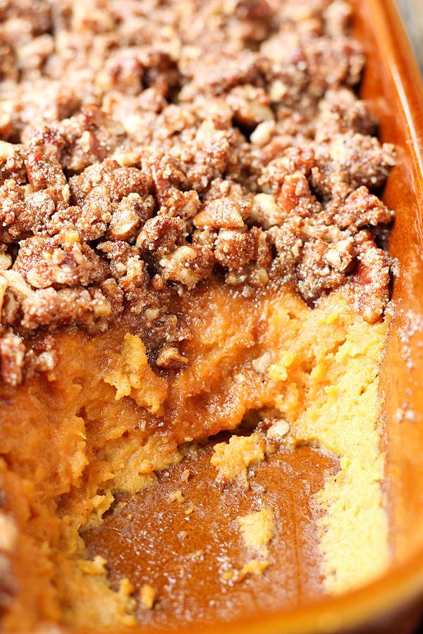 Paleo Thanksgiving Sweet Potatoes  Paleo Sweet Potato Casserole Golden Barrel Thanksgiving