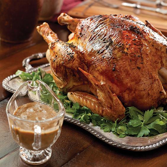 Paula Dean Thanksgiving Turkey  Easy Roast Turkey with Pan Gravy Recipe