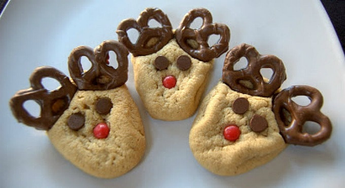 Peanutbutter Christmas Cookies  Peanut Butter Reindeer Cookies 365 Days of Baking and More