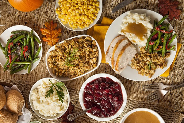 Photos Of Thanksgiving Dinners  7 SA Hotel Restaurants fering Thanksgiving Dinner With