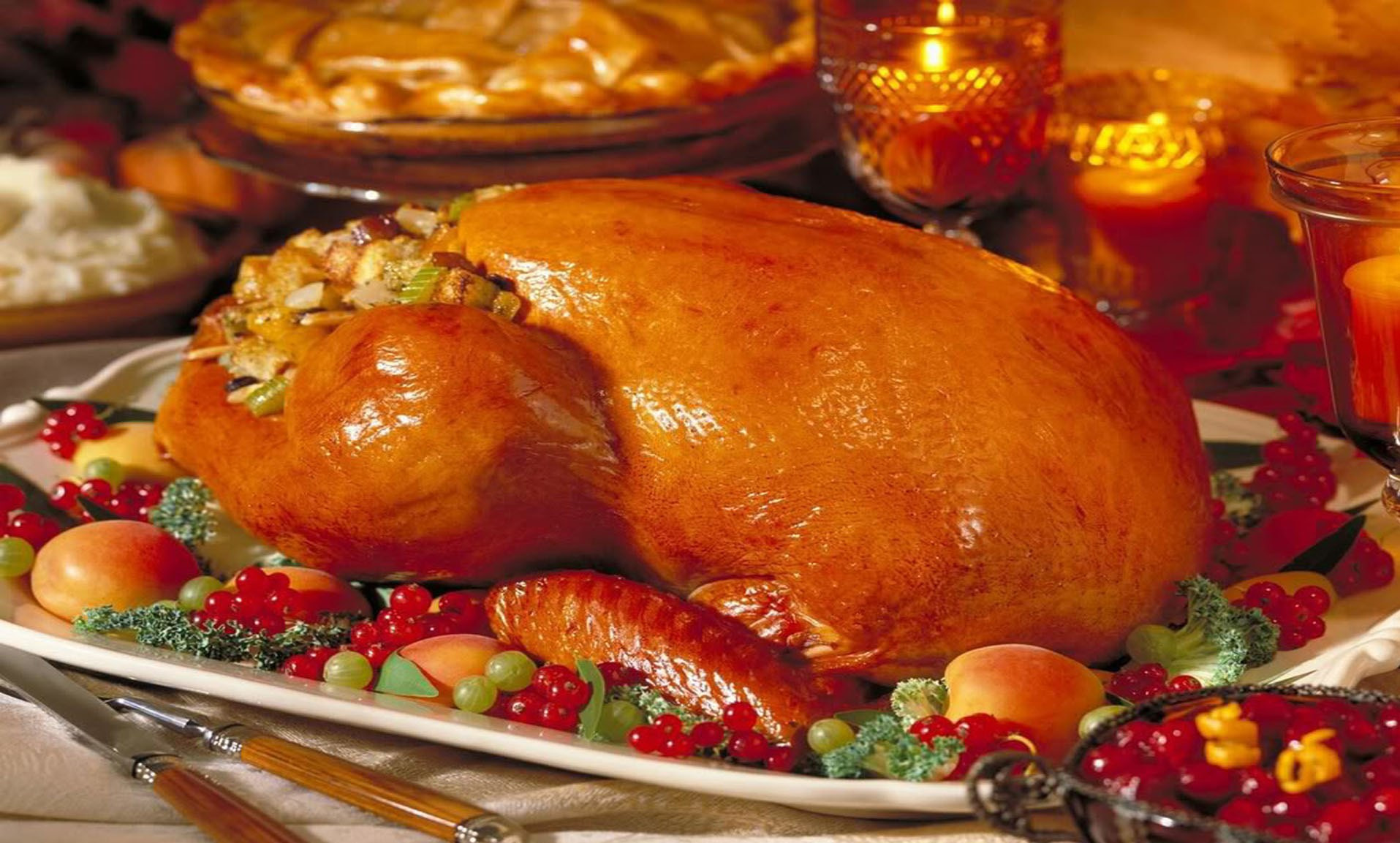 Picture Of Thanksgiving Turkey  Thanksgiving Roasted Turkey