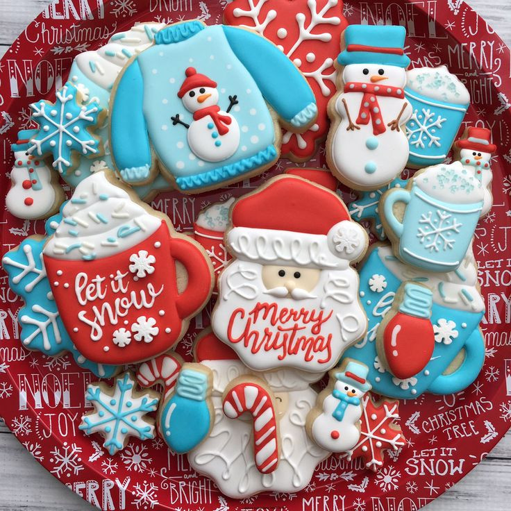 Pictures Of Christmas Cookies Decorated  17 Best ideas about Decorated Christmas Cookies on