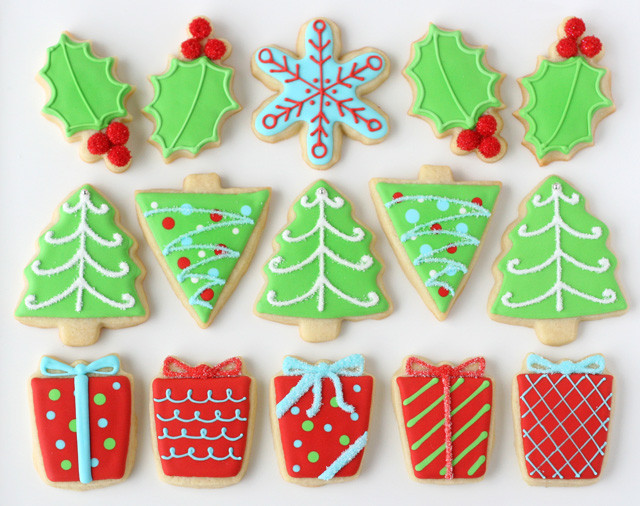 Pictures Of Christmas Cookies Decorated  Decorated Christmas Cookies – Glorious Treats