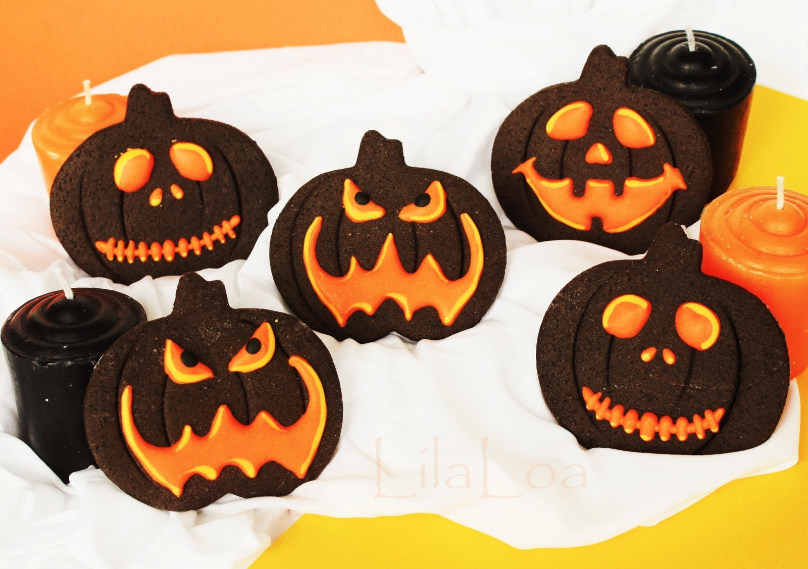 Pictures Of Halloween Cookies  How to Make Those Jack O Lantern Cookies