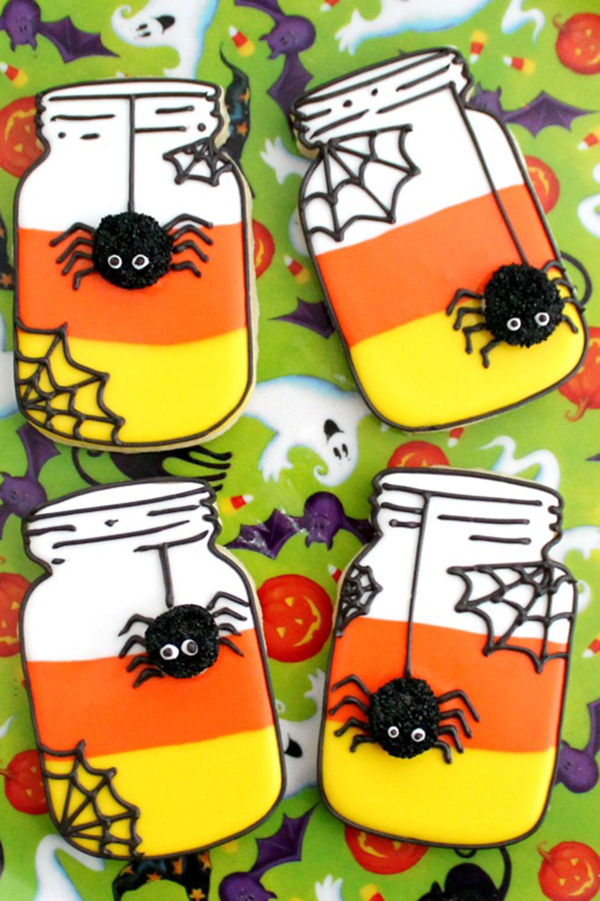 Pictures Of Halloween Cookies  31 Easy Halloween Cookies Recipes & Ideas for Cute
