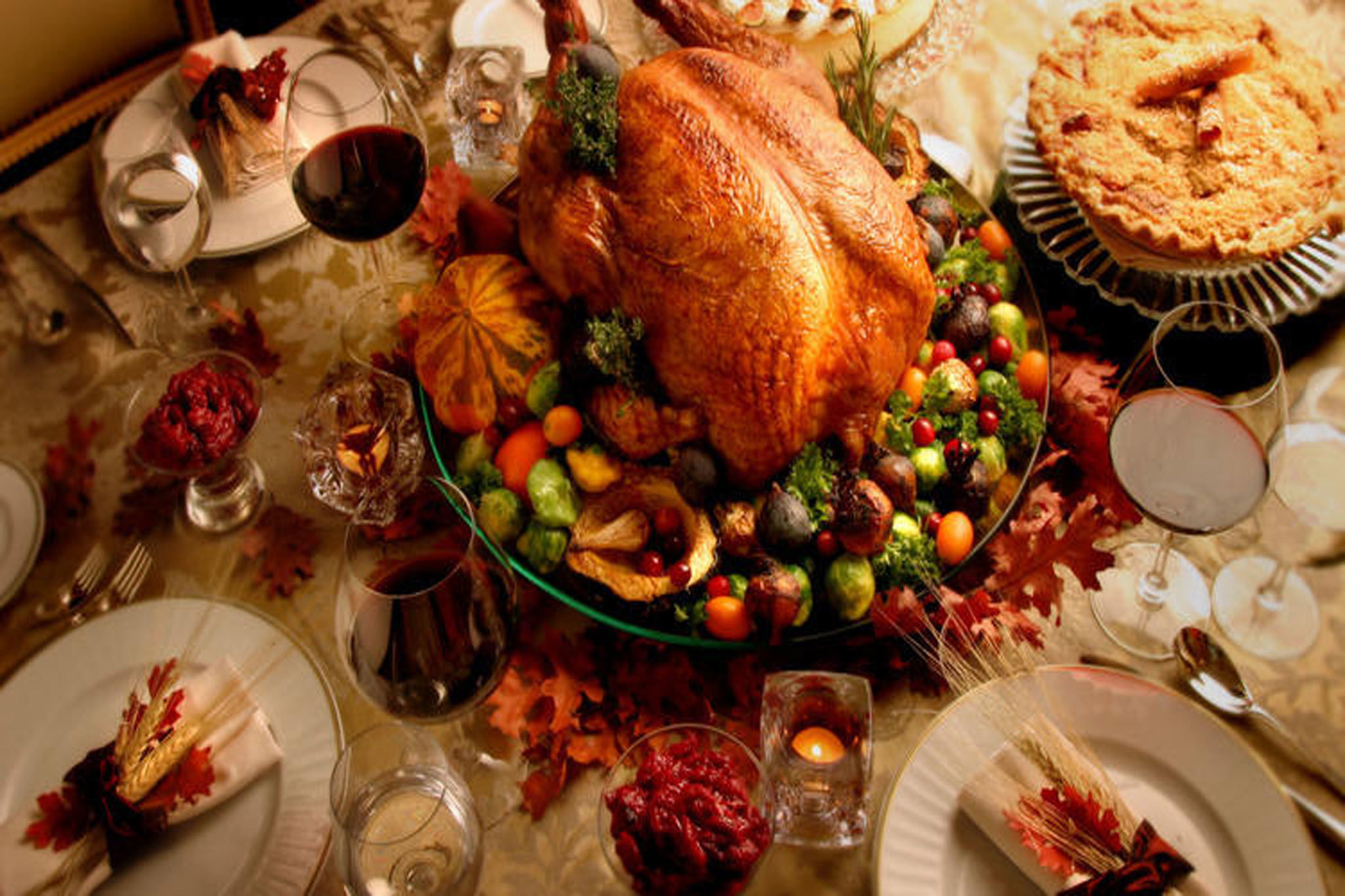 Pictures Of Thanksgiving Turkey Dinner  Best restaurants for Thanksgiving dinner in Los Angeles