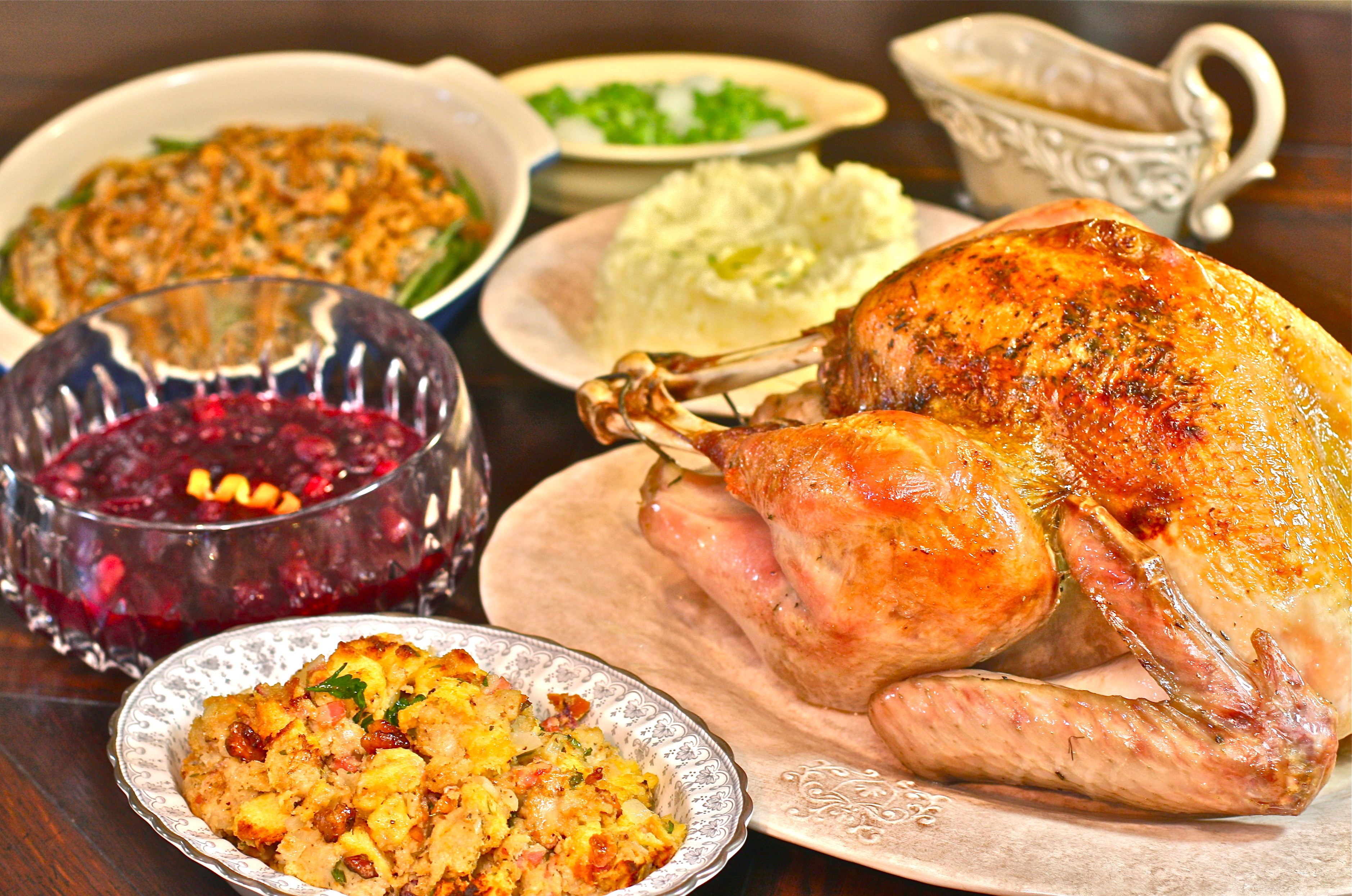 Pictures Of Thanksgiving Turkey Dinner  Simple Holiday Event Ideas