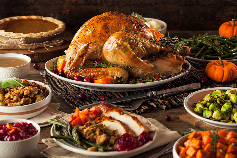 Pictures Of Thanksgiving Turkey Dinner  For Thanksgiving dinner without the fuss make a