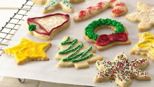 Pillsbury Christmas Cookies Recipes  Cream Cheese Sugar Cookies recipe from Pillsbury