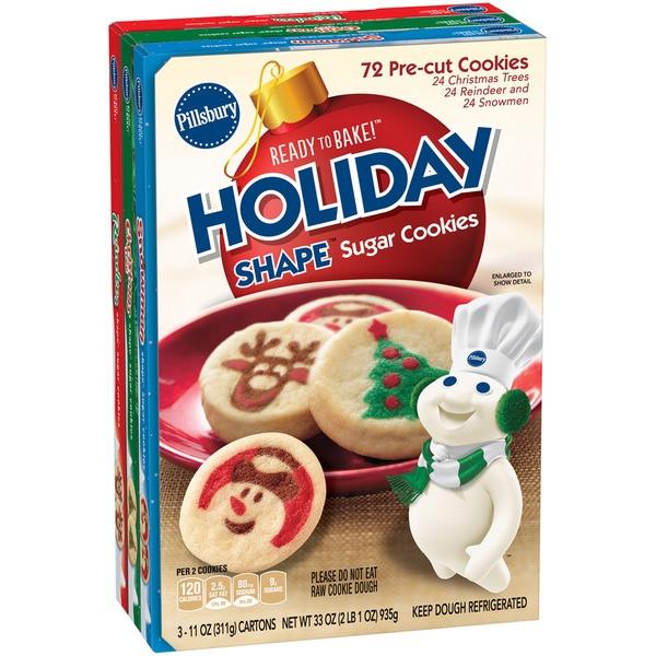Pillsbury Christmas Sugar Cookies  Holiday Sugar Cookies Pillsbury House Cookies