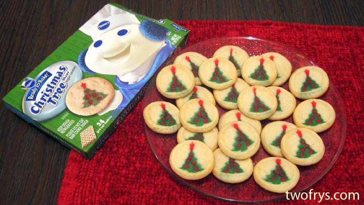 Pillsbury Christmas Sugar Cookies  Two Frys Pillsbury Christmas Tree Shape Sugar Cookies