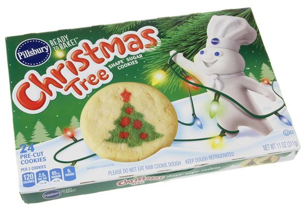 Pillsbury Sugar Cookies Christmas  Pillsbury Ready to Bake Christmas Tree Shape Sugar