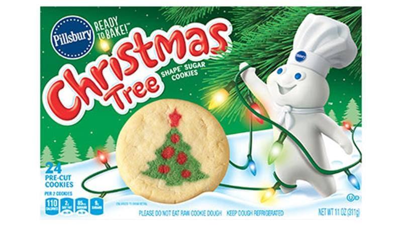 Pillsbury Sugar Cookies Christmas  Pillsbury™ Shape™ Christmas Tree Sugar Cookies Pillsbury