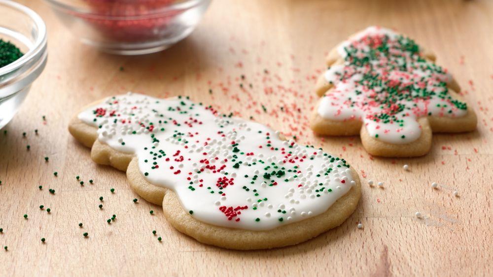 Pillsbury Sugar Cookies Christmas  Basic Iced Holiday Sugar Cookies recipe from Pillsbury