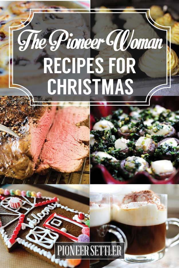 Pioneer Woman Christmas Desserts  1000 ideas about The Pioneer Woman on Pinterest