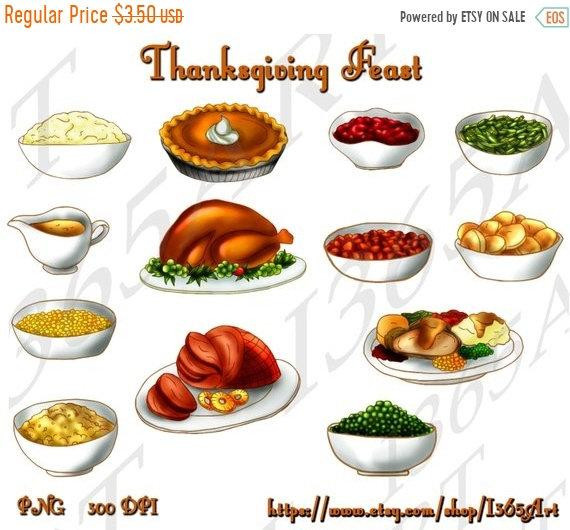 Polly'S Pies Thanksgiving Dinner  OFF Thanksgiving Feast Clipart Thanksgiving clip art