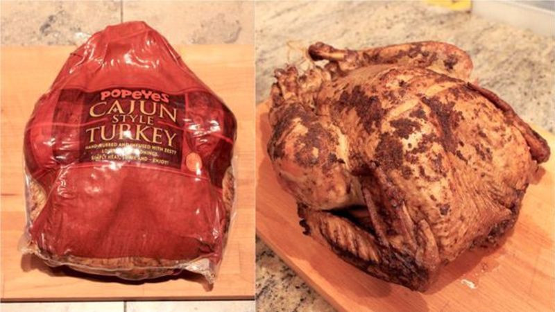 Popeyes Fried Turkey Thanksgiving 2019  Popeyes Cajun turkey is tastier than whatever you re