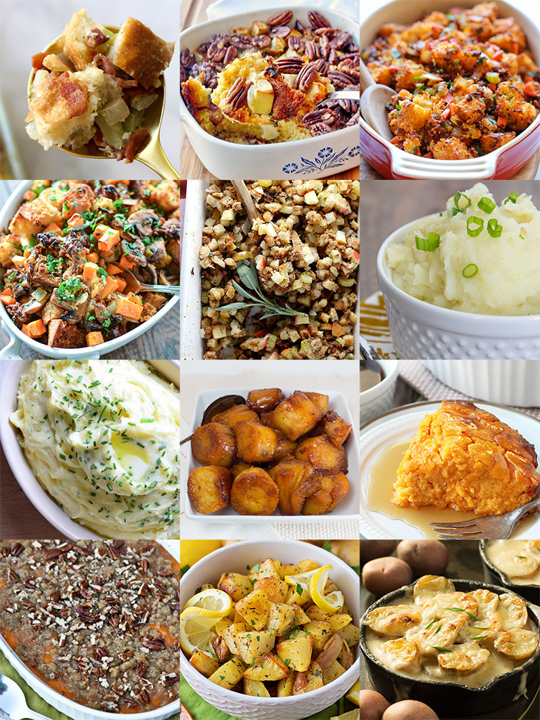 Potatoes Thanksgiving Side Dishes  Thanksgiving Side Dishes