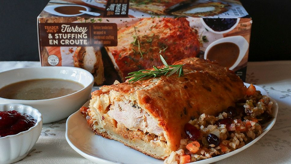 Precooked Thanksgiving Dinner  Trader Joe s $13 Thanksgiving Turkey Dish Can Feed the