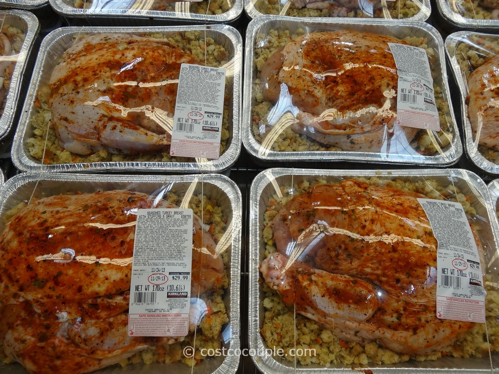 Precooked Thanksgiving Dinner  Kirkland Signature Seasoned Turkey Breast With Stuffing
