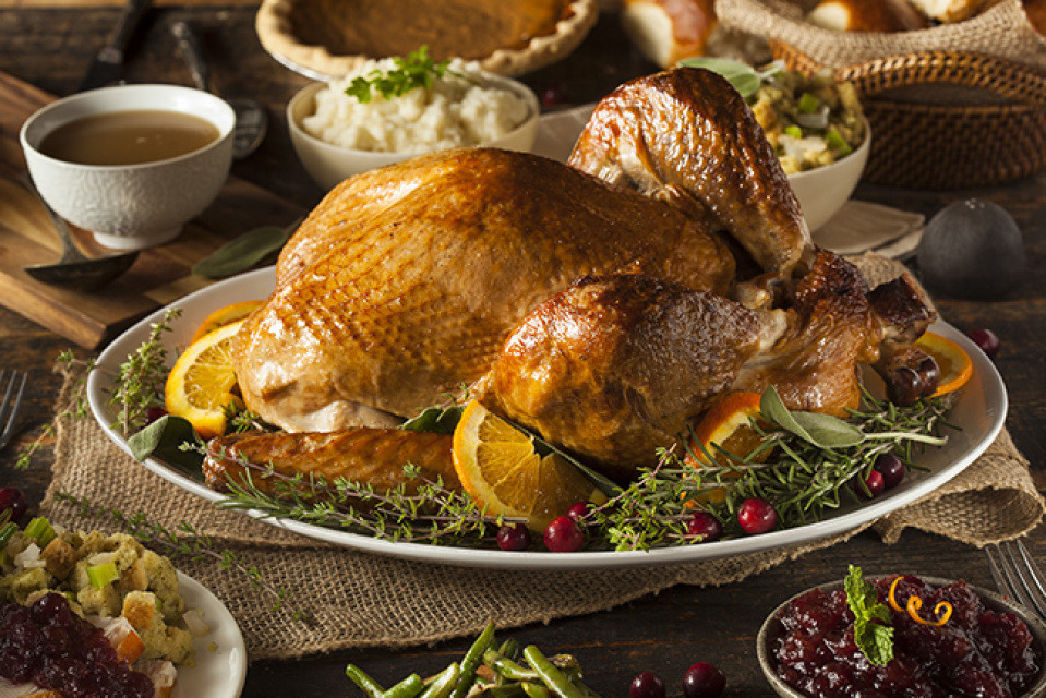Precooked Thanksgiving Turkey  Thanksgiving Dinner Fully Cooked